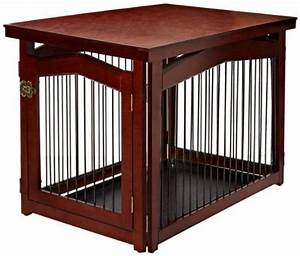 the best dog crates a guide for dog owners With best wooden dog crate