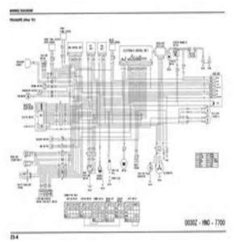 2004 honda rubicon 500 wiring diagram wiring diagram