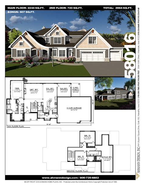 58016 (With images) House plans Sims house design