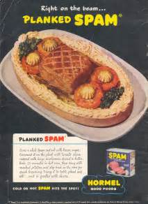 spam wartime recipes