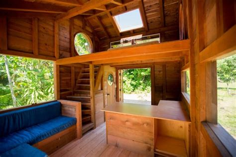 small wooden cabin   big  style adorable home