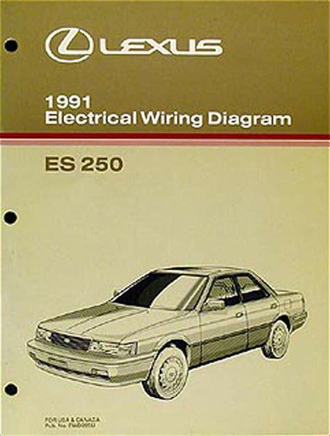 Lexus Oem Wiring Diagram Manual Original
