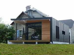 les 25 meilleures idees de la categorie bardage sur With maison de la fenetre 0 maison contemporaine dompierre sur mer