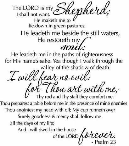 Psalm Funeral Bible Psalms Clipart Scriptures Scripture