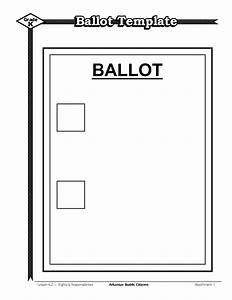 vote ballot template wwwpixsharkcom images galleries With voting slips template