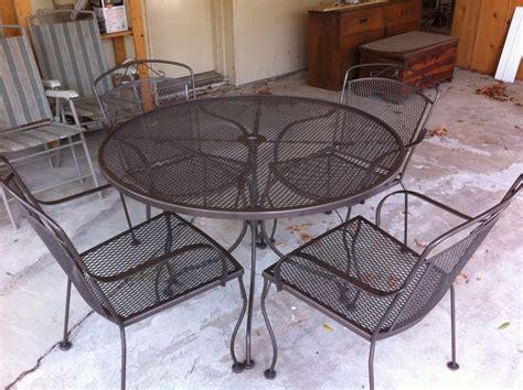 best 25 metal patio furniture ideas on pinterest