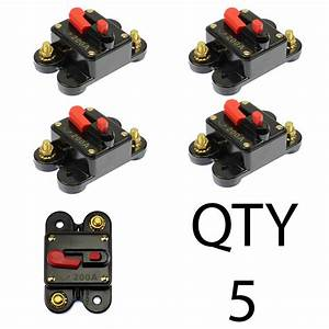 5  Circuit Breaker 250 Amp With Gold Plated Terminals