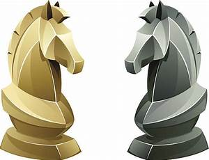 Knight Chess Piece Clip Art, Vector Images & Illustrations ...