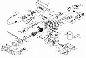 Porter Cable Belt Sander Parts