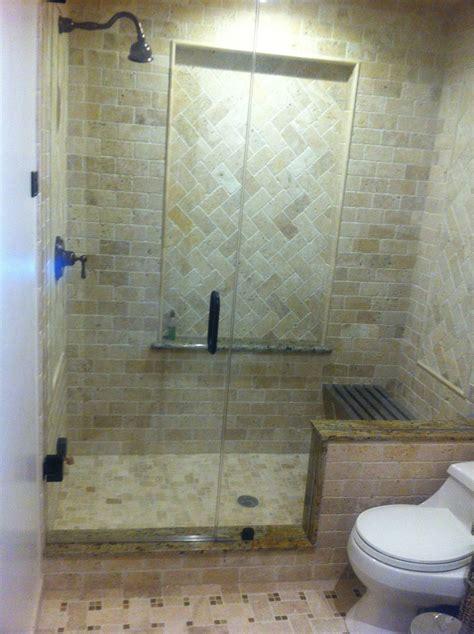 custom shower ideas inspiring custom steam shower with frameless sliding door