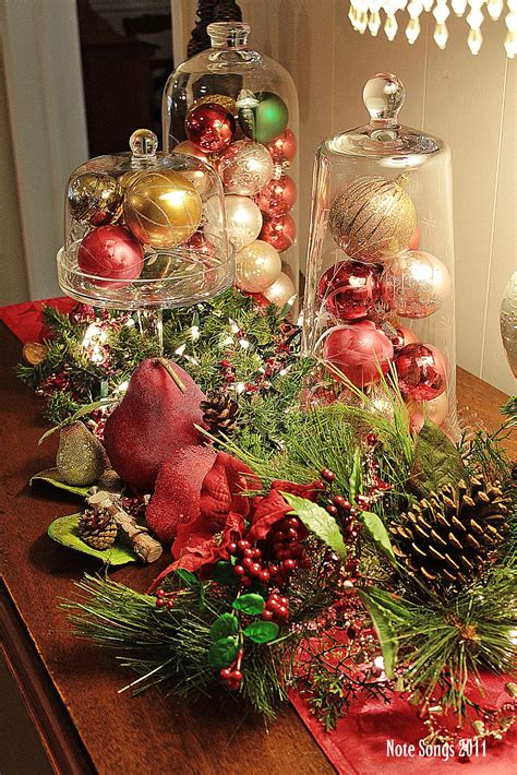 christmas banquet table decorations   centerpieces