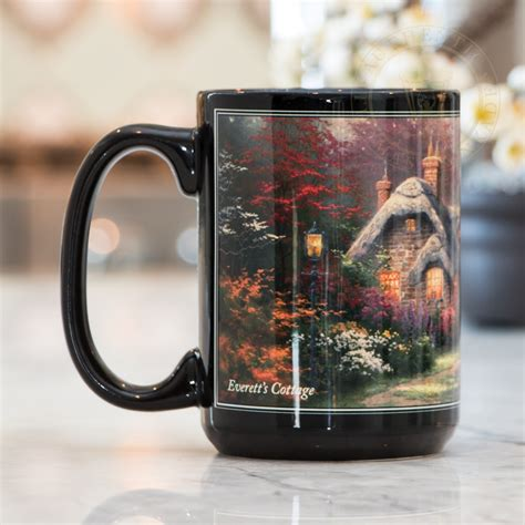 Everett?s Cottage ? Ceramic Mug, 15 oz   The Thomas Kinkade Company