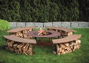 Feuerstelle Im Garten : alpenline feuerstelle circle ~ Indierocktalk.com Haus und Dekorationen