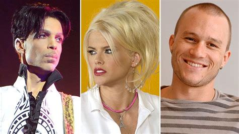 9 Celebrities Who Died From Prescription Painkiller