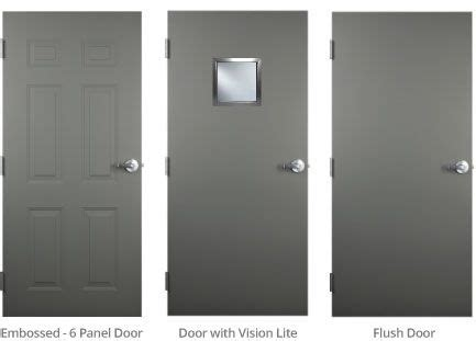 hollow metal door hollow metal doors trudoor