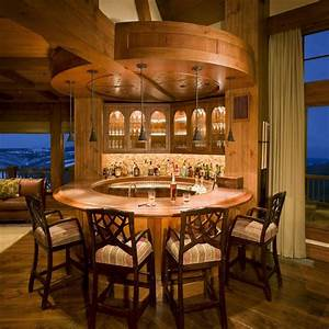 Bar Decor Family Room Rustic With Timber Design Timber