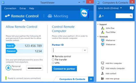 bureau à distance windows 8 les meilleurs programmes pour contrôler votre pc à distance