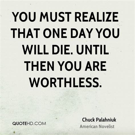One Day You Realize Quotes