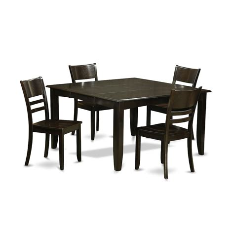 Dinette Table With Leaf by 5 Pc Dining Room Set Dinette Table With Leaf And 4 Kitchen
