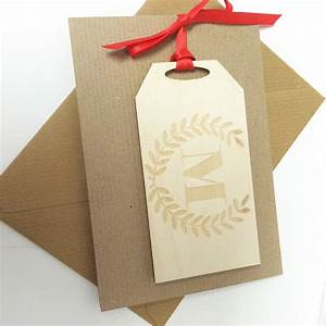 initial letter gift tag birthday card by hickory dickory With letter gift tags