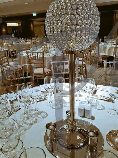 Crystal Table Decoration Sphere Decorations Party Soletsparty