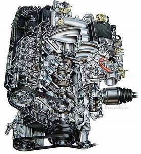This Is A Cutaway Of An Acura Vigor Engine  An Automotive