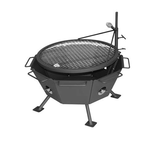pit with grill patio with firepit and grill