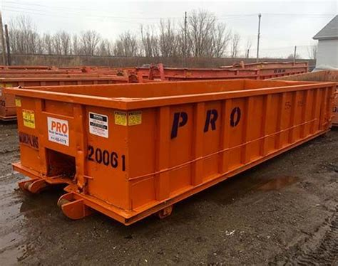 roll  dumpsters pro waste services erie meadville