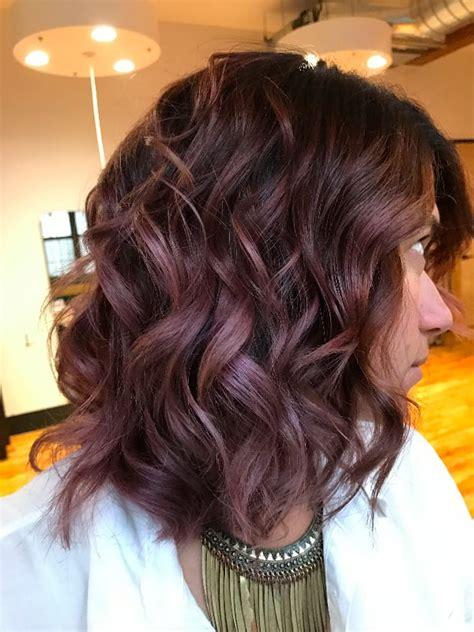 chocolate mauve  daylight chocolate mauve hair color