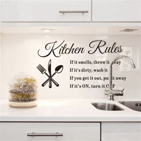stickers cuisine originaux kitchen wall quotes and sayings quotesgram