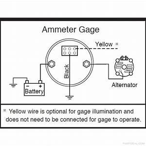 Car Ammeter Wiring Diagram