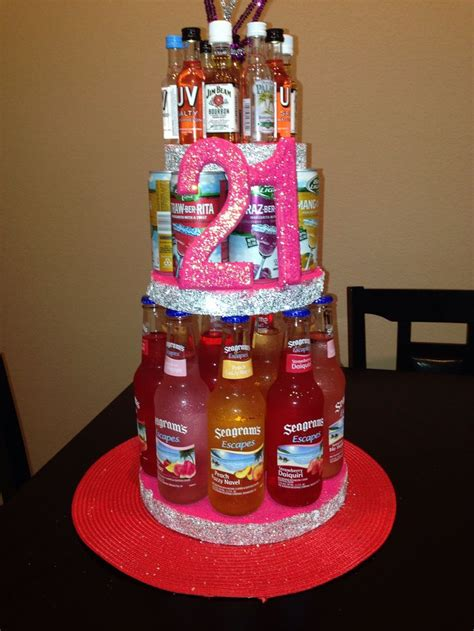 st alcohol birthday cake st birthday gifts st
