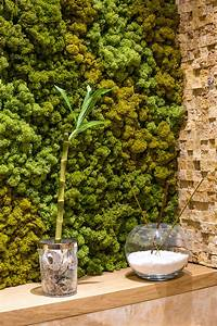 What Is This A Faux Moss Wall Or Is It Dried How Do You