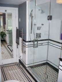 vintage black and white bathroom ideas black and white tile bathrooms done 6 different ways retro renovation