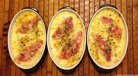 recettes de cuisine facile pour le soir parmentier au rouget