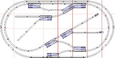 american flyer model track layout plans   Jennies Blog