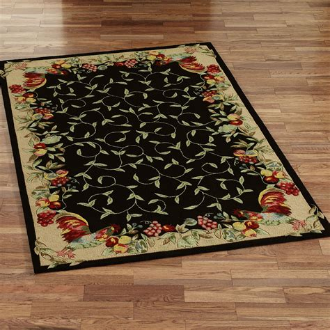 kitchen rugs fruit design kitchen rugs with fruit rugs ideas 5587