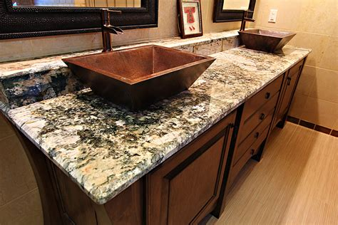 bathroom granite marble countertops