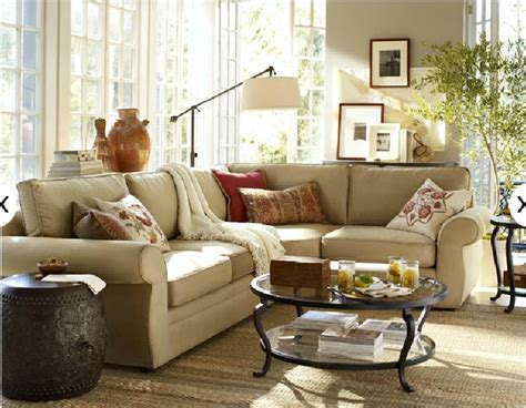 living room pottery barn ideas pinterest