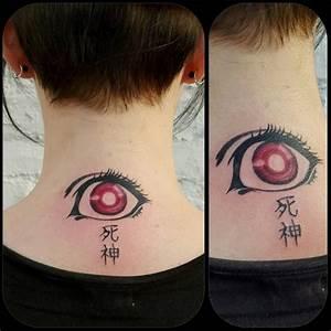 This hauntingly beautiful Shinigami eye: | Note tattoo ...