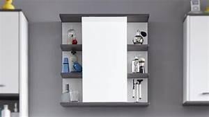 Bad Spiegelschrank Beleuchtet : bad spiegelschrank san diego wei rauchsilber bad spiegel ~ Frokenaadalensverden.com Haus und Dekorationen