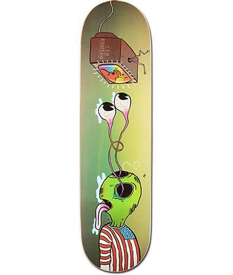 toy machine romero buggin out 8 25 quot skateboard deck zumiez