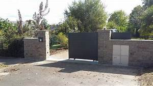 Cloture Sur Muret : cloture avec muret cl tures murets grillages portails ets ~ Carolinahurricanesstore.com Idées de Décoration