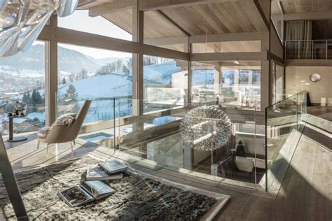 luxury chalet turns  french alps   perfect ski