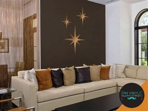 Check out our starburst wall decor selection for the very best in unique or custom, handmade pieces from our wall hangings shops. Retro Starburst Vinyl Wall Decals, Set of 3 - SHA003 | Vinyl wall decals, Wall decals, Smooth walls