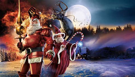 image  year fantasy santa claus moon creative