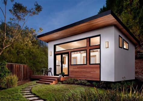 Haus Bauen Modern Flachdach  Kleines Einfamilienhaus