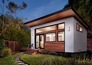 Kleines Holzhaus Bauen : luxus haus in weniger als 6 wochen bauen lassen kleines fertighaus mit holzverkleidung freshouse ~ Sanjose-hotels-ca.com Haus und Dekorationen