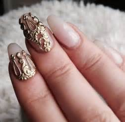 Unique wedding nails pinkous
