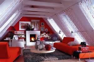 wohnideen raum mit dach abfallend wohnen unterm dach living at home